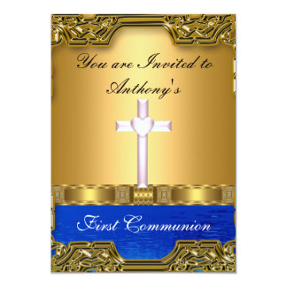 First Holy Communion Personalized Invitations