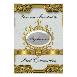 First Holy Communion Personalized Invite