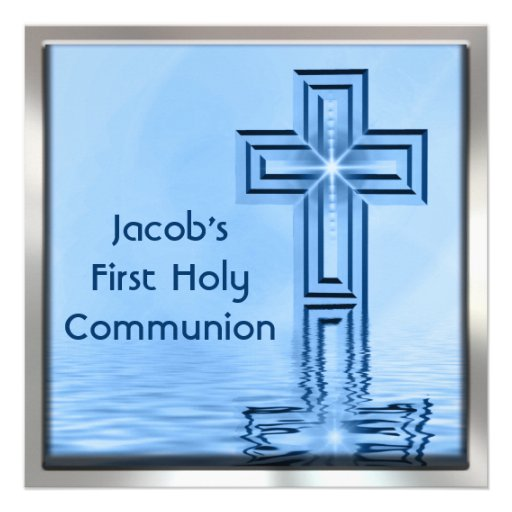 First Holy Communion Invitation