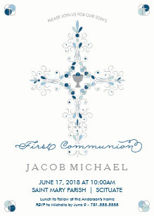 first communion 1st holy communion invitations zazzle co uk