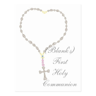 First Holy Communion Invitation Post Cards