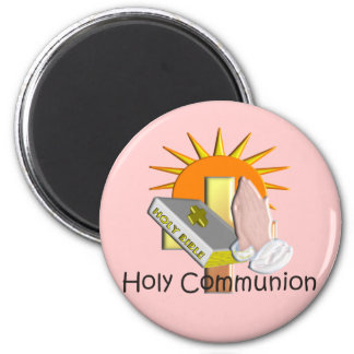 First Holy Communion Kids Gifts 6 Cm Round Magnet