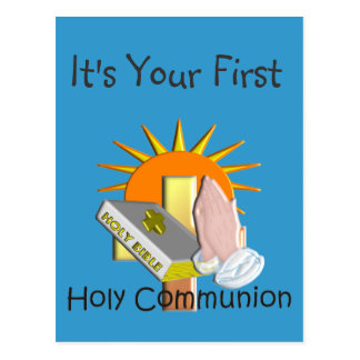 First Holy Communion Kids Gifts Post Cards