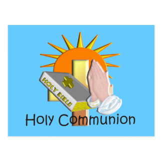 First Holy Communion Kids Gifts Post Card