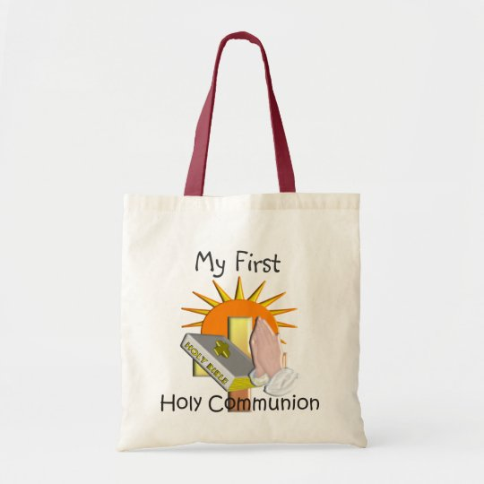 First Holy Communion Kids Gifts Tote Bag