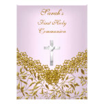 First Holy Communion Party Invitation Girls