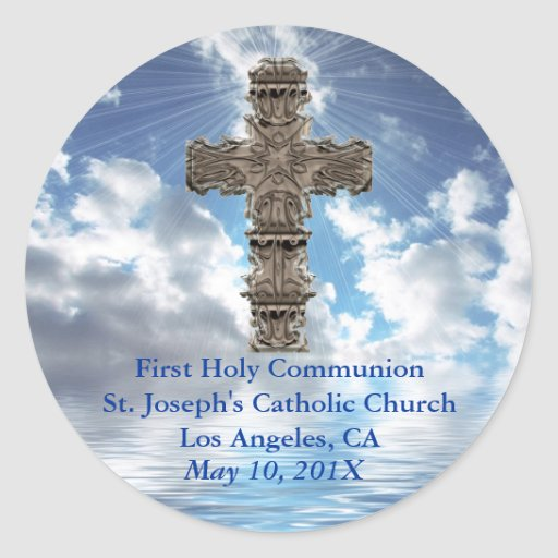 First Holy Communion Stickers