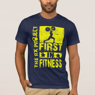 First in Fitness- Clean and Jerk T-shirt