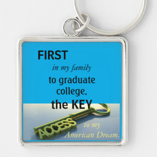 First in my Family Key Ring