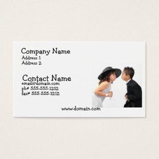First Kiss Busines Card