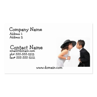First Kiss Busines Card Pack Of Standard Business Cards