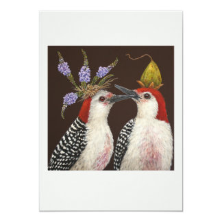First kiss flat card