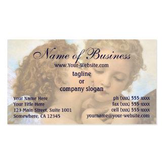 First Kiss, L'Amour et Psyché, Enfants, Bouguereau Business Card