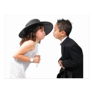 First Kiss Postcard