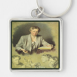 First Lady Anna Eleanor Roosevelt Key Ring