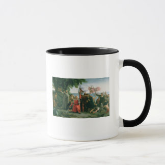 First Landing of Christopher Columbus in Mug