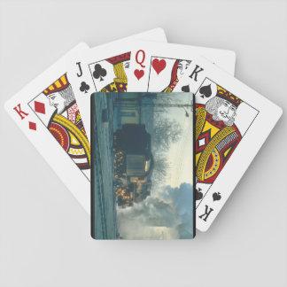 First light at Elzig, Turkey catches_Steam Trains Poker Deck