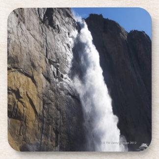 First light on Upper Yosemite Fall at peak flow Coaster