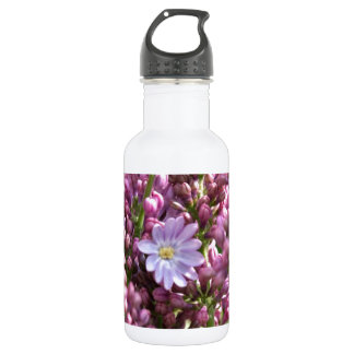 First Lilac Flower with twelve petals by BestPeopl 532 Ml Water Bottle