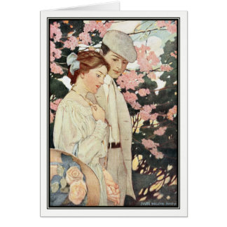 First Love by Jessie Willcox Smith Greeting Card