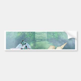 FIRST LOVE ~ NATURE BUMPER STICKER
