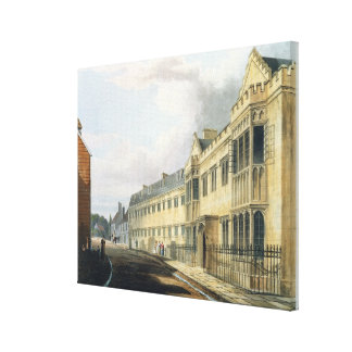 First Master's House, Harrow School, from 'History Canvas Print
