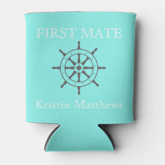 First Mate/Captain Can Cooler (Hers)