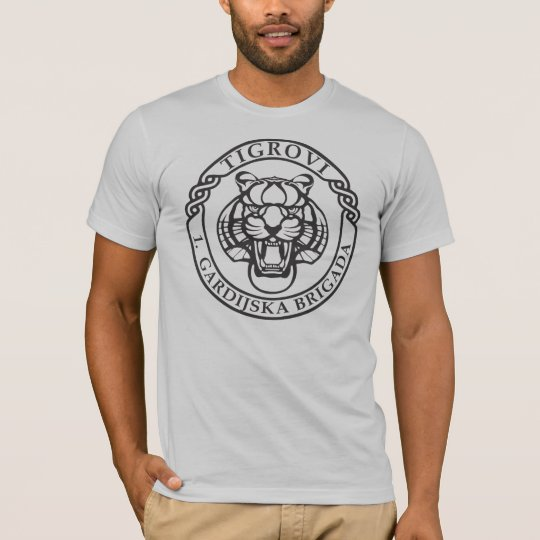 First Mechanized Guard brigade Croatia The Tigers T-Shirt