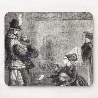 First Meeting of Edward IV and Lady Elizabeth Mouse Pad
