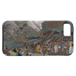 First Meeting of French Explorers with the Indigen iPhone 5 Case