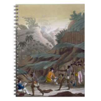 First Meeting of French Explorers with the Indigen Notebook