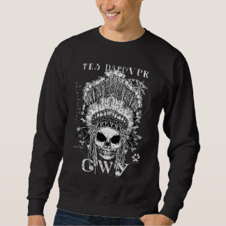 FIRST NATION CHEROKEE ALIEN SWEATSHIRT