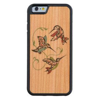 First Nation Hummingbird Design Cherry iPhone 6 Bumper Case