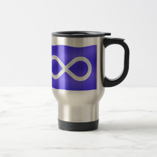 First Nations Gifts Metis Flag Travel Cup Mug