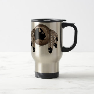 First Nations Travel Mug Wildlife Art Coffee Cup