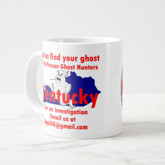 First Person Ghost Hunters team coffee cup. Giant Coffee Mug