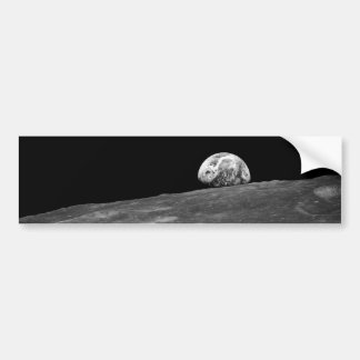 First Photograph of a Earthrise taken by Apollo 8 Bumper Sticker