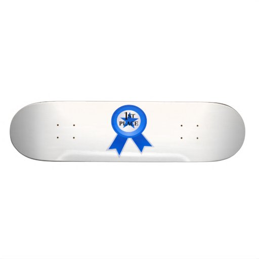 First Place Blue Ribbon Custom Skate Board