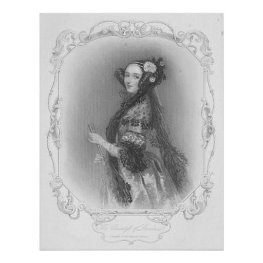 First Programmer: Ada Lovelace Poster