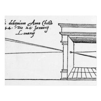 First published illustration postcards