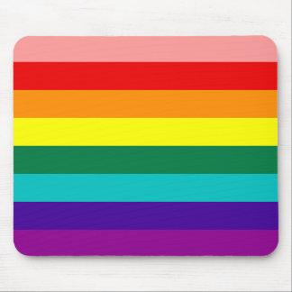 First Rainbow Gay Pride Flag Mousepad