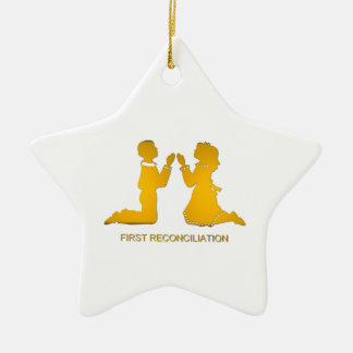 First Reconciliation Christmas Ornament