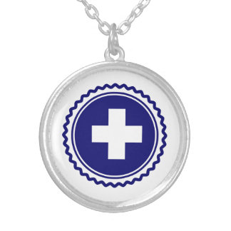First Responder Blue Health Care Cross Jewelry