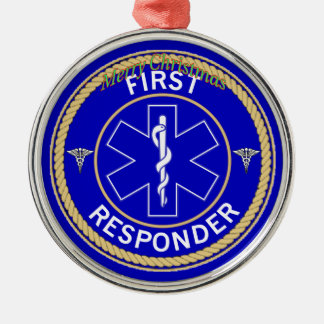 First Responder Christmas Ornament