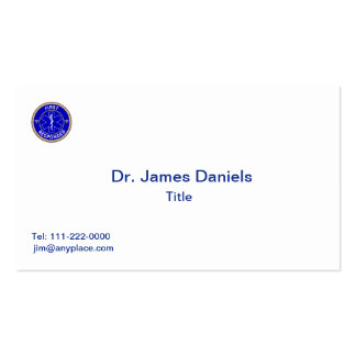 First Responder Pack Of Standard Business Cards