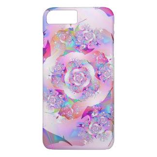 First Rose Fine Fractal Art iPhone 8 Plus/7 Plus Case