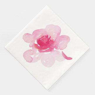 First Rose Napkin Paper Serviettes