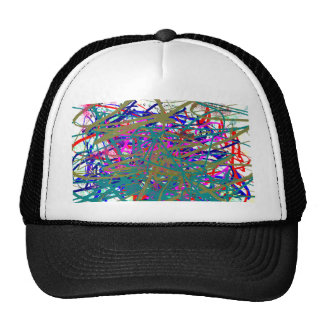 First Scrawl of Famous Digital Artist ;) Kids Art Cap