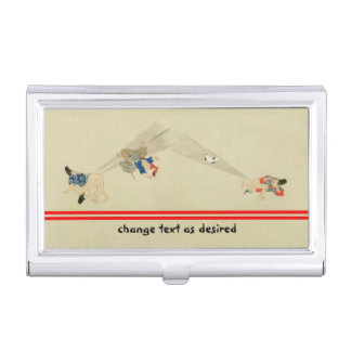 First Scroll, Ancient Japanese Fart Battles Business Card Holder