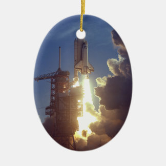 First Shuttle Launched Christmas Ornament